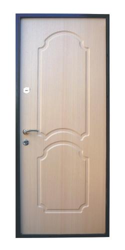 металлические двери из сварного профиля
