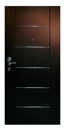 стальные двери сварные обитые
